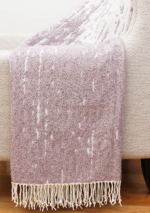Massi Fringe Decorative Knit Throw