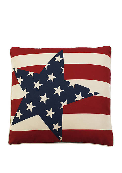 Andrew Stars and Stripes Accent Pillow