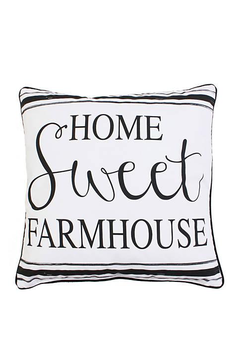 Harrison Home Sweet Farmhouse Pillow