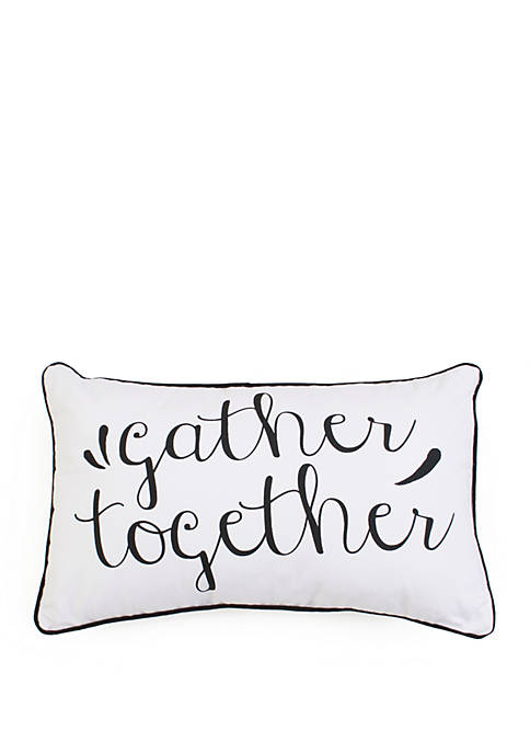 Thro by Marlo Lorenz Gary Gather Together Pillow