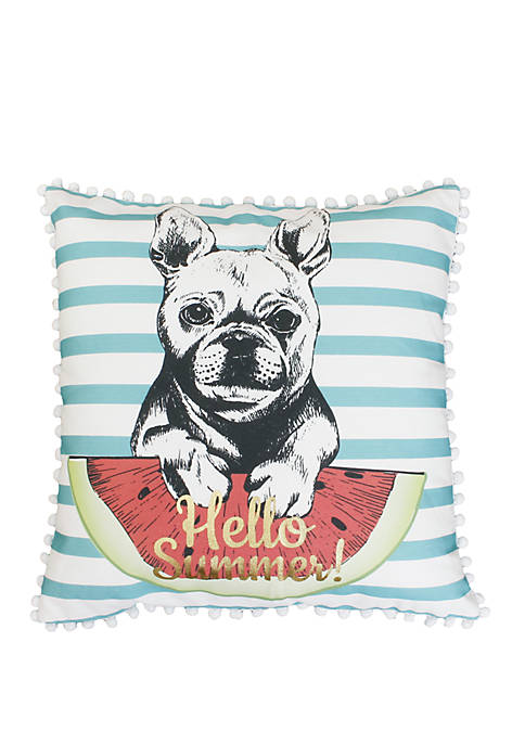 Thro by Marlo Lorenz Aqua Franco French Bulldog