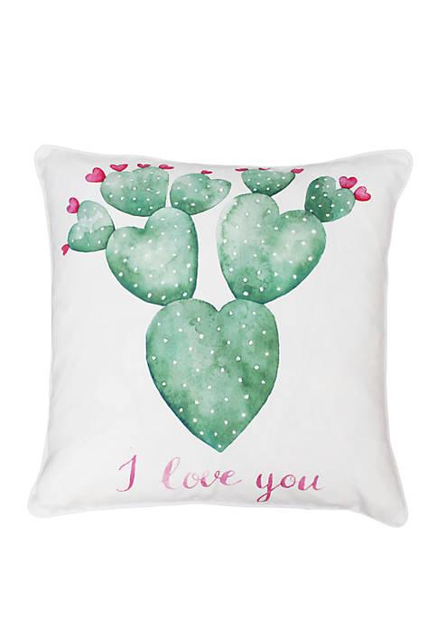 Sandrine Cindy Succulent Pillow