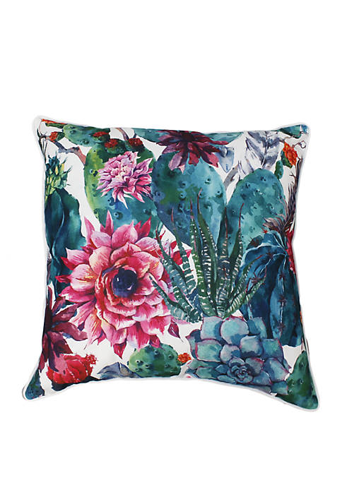 Ray Cindy Succulent Pillow