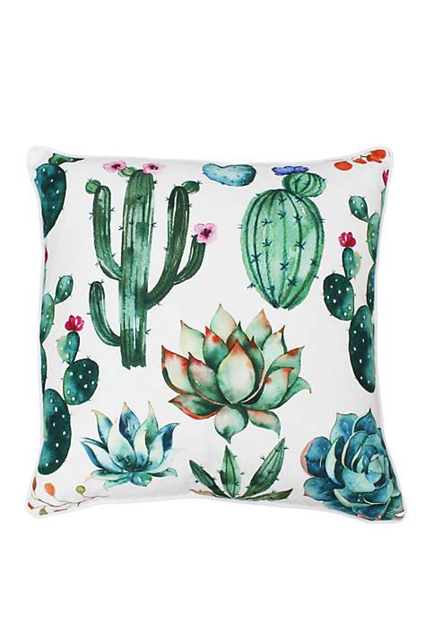 Thro by Marlo Lorenz Ellen Cindy Succulent Pillow