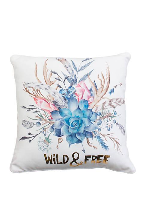 Willa Faux Linen Pillow