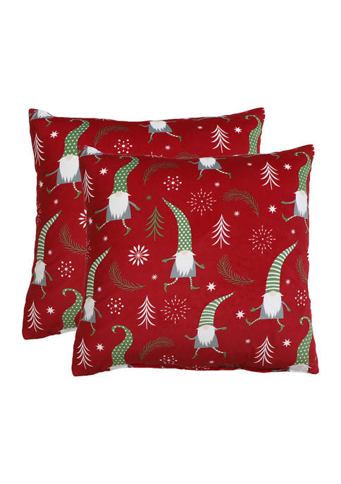 Thro by Marlo Lorenz 2 Pack Elves Pillows