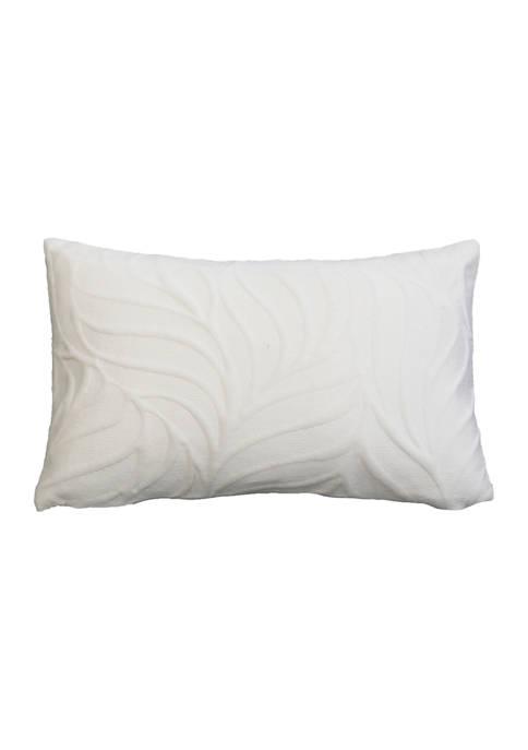 Edwin Embossed Velvet Pillow