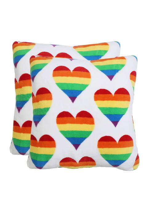 Thro by Marlo Lorenz 2 Pack of Rainbow