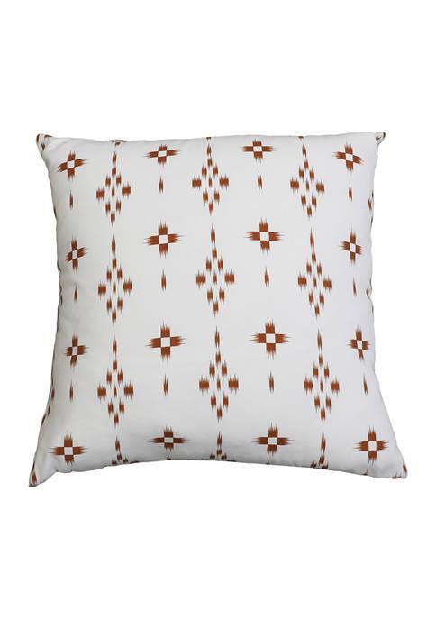 Evan Diamond Printed Pillow