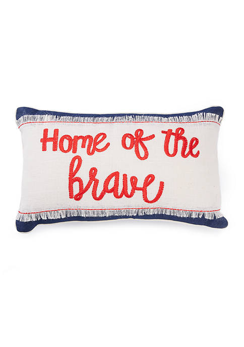 Modern. Southern. Home.™ Home of the Brave Throw