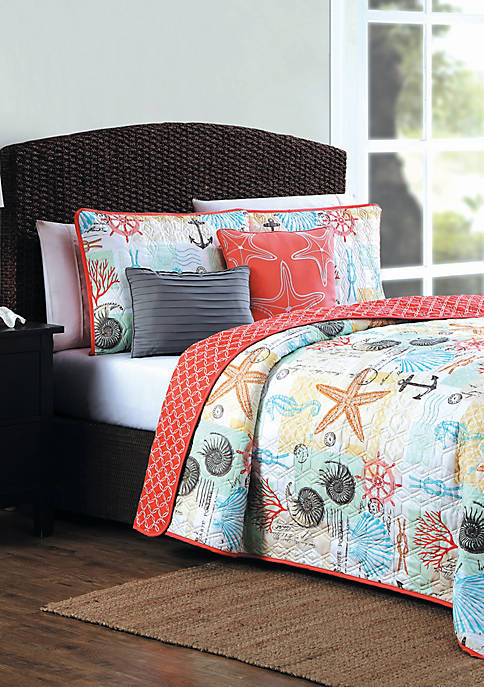 Belize 5 Piece Quilt Set