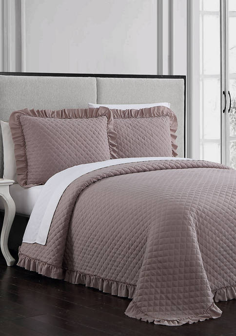 Gweneth 3 Piece Super Soft Quilt Set