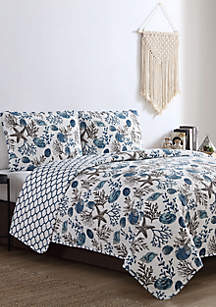 VCNY Home Antigua Quilt Set