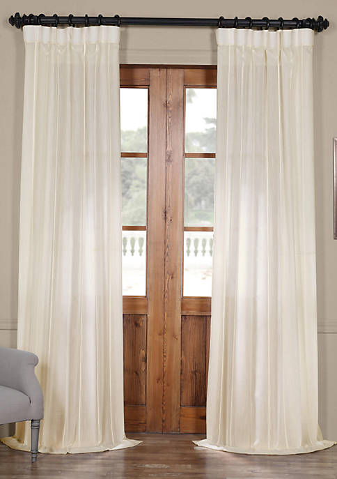 Aruba Striped Linen Sheer Curtain
