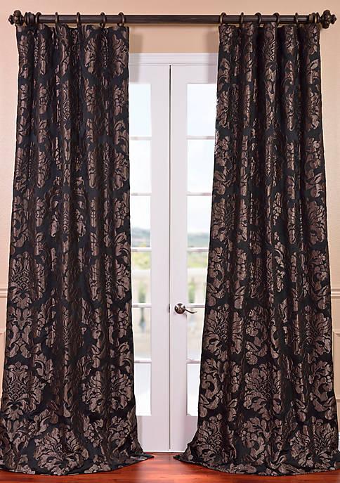 Astoria Faux Silk Jacquard Curtain