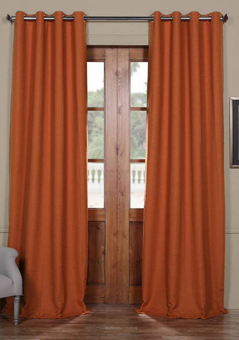 Exclusive Fabrics & Furnishings Bellino Grommet Blackout Curtain