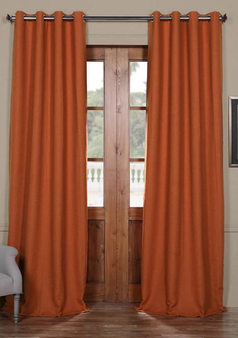 Exclusive Fabrics & Furnishings Bellino Grommet Blackout Curtain