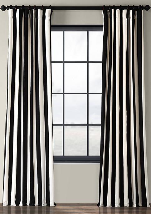 Cabana Printed Cotton Curtain