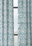 Catalina Printed Cotton Twill Curtain