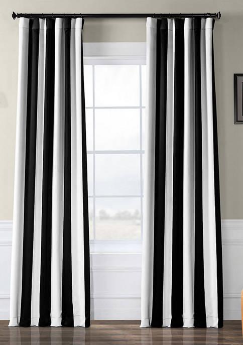 Exclusive Fabrics & Furnishings Awning Stripe Blackout 63