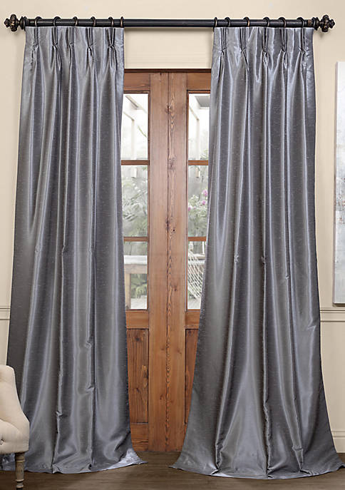 Exclusive Fabrics & Furnishings Blackout Vintage Textured Faux