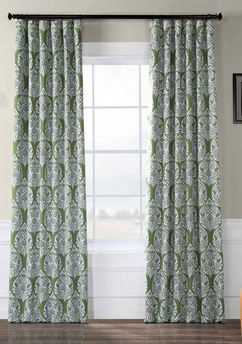 Exclusive Fabrics & Furnishings Woodcut Blackout Curtains