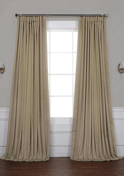 Exclusive Fabrics & Furnishings Extra Wide Blackout Curtains