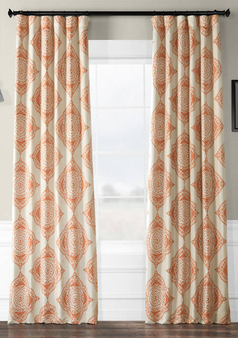 Exclusive Fabrics & Furnishings Henna Blackout Curtains