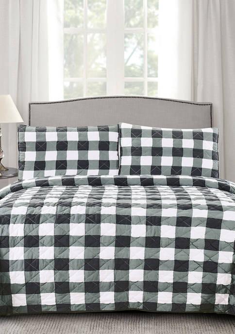 Sweet Home Collection Buffalo Check Print Ultra Soft