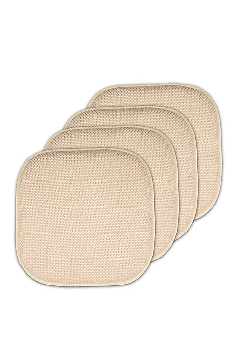 Sweet Home Collection 4 Pack Memory Foam Honeycomb