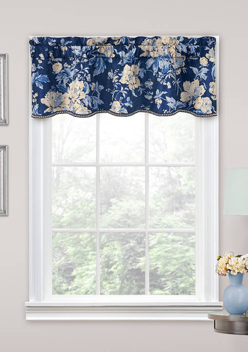 Traditions by Waverly® Forever Yours Floral Window Valance