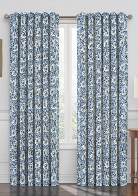 Paisley Verveine Window Curtain