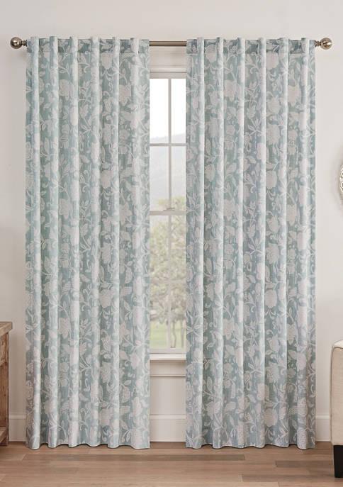 Stencil Vine Window Curtain