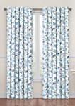Carolina Crewel Curtain Panel