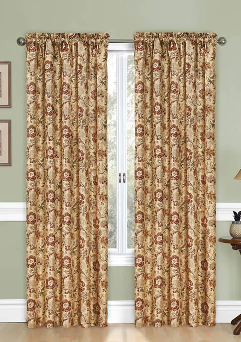 Traditions by Waverly® Navarra Floral Window Panel