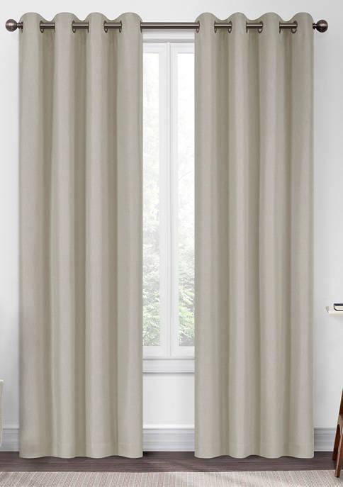 Eclipse™ Kira Herringbone Absolute Zero Blackout Window Panel