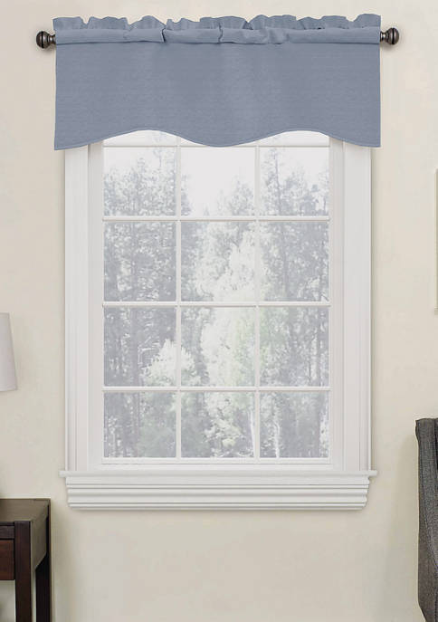 Eclipse™ Kendall Blackout Wave Curtain Valance