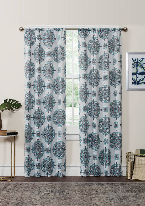 Eclipse™ Olivia Thermaweave Room-Darkening Window Curtain Panel