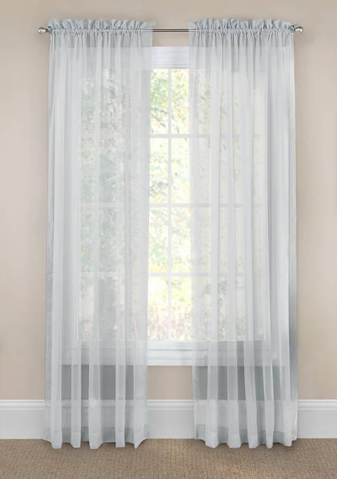 Victoria Voile Sheer Curtain Panel Pair