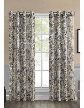 Ellery Homestyles Jenice Grommet Top, Ellery Homestyles Curtains