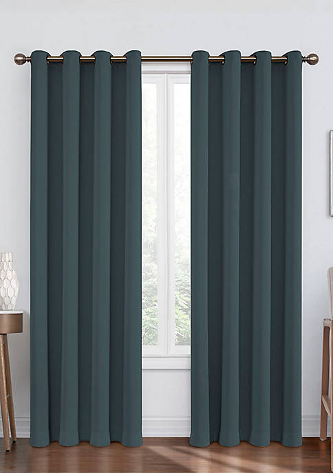 Eclipse™ Round and Round Blackout Window Curtain Panel