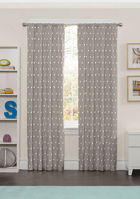 Eclipse™ Peanut Pals Blackout Window Curtain Panel