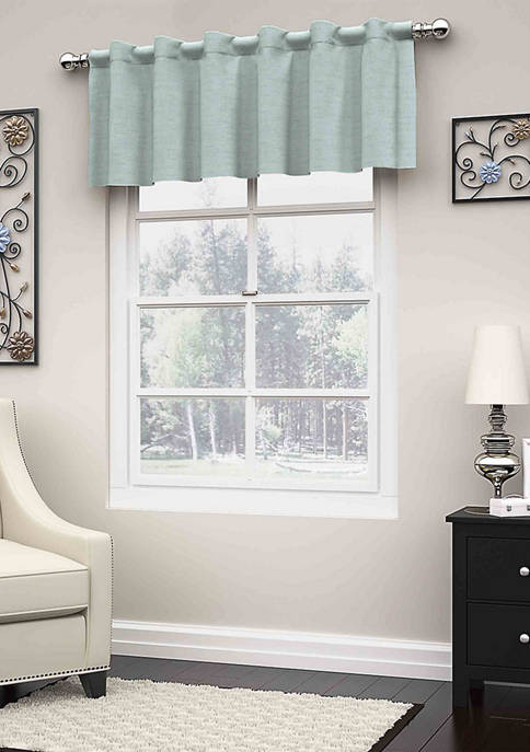 Eclipse™ Dutton Thermaweave Blackout Window Valance