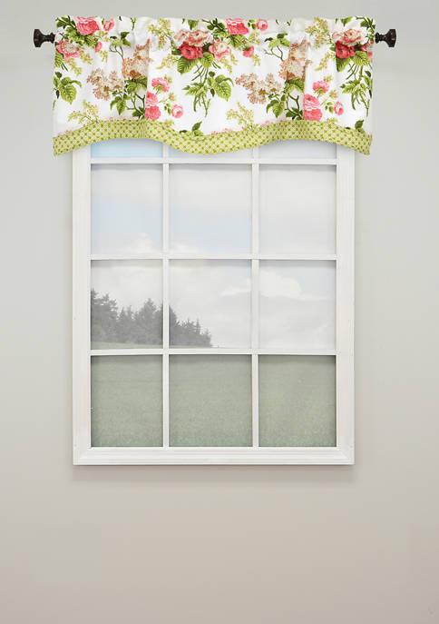 Waverly® Emmas Garden Lined Window Valance