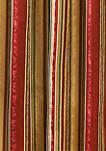 Stripe Ensemble Scalloped Window Valance