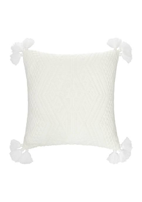 Tapestry Tile Print Pillow