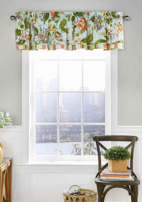 Waverly® Laurel Springs Lined Window Valance