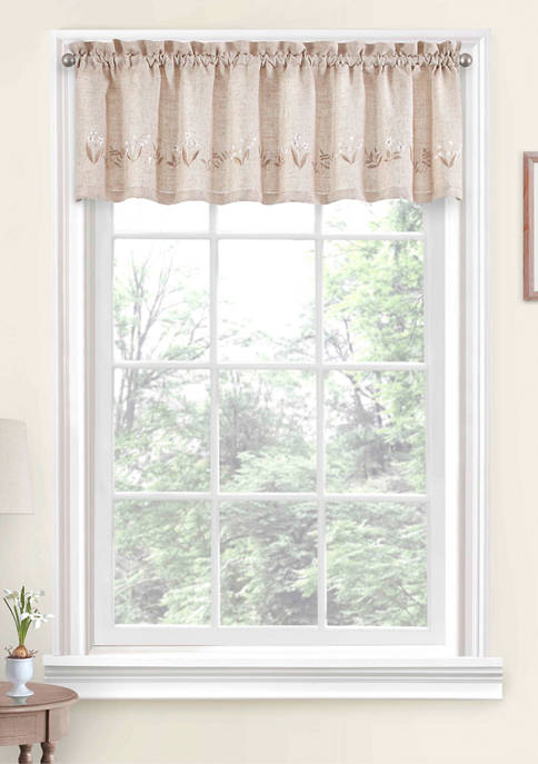 Lily of the Valley Valance