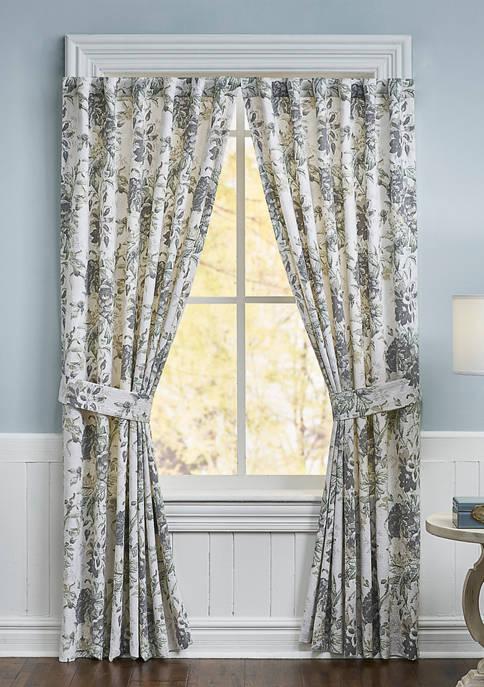 Waverly® Kensington Bloom Window Drapery Pair