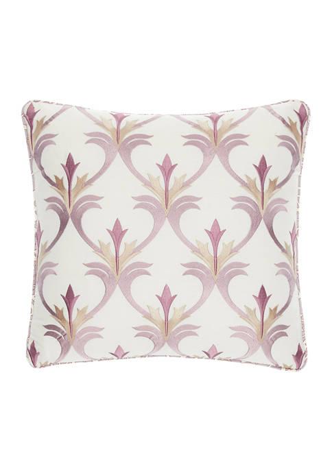 Jacobean Flair 18x18 Embroidered Dec Pillow